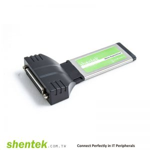 2 port High Speed Serial RS-232 + 1 port Parallel ExpressCard