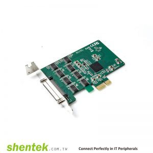 PCIe ESD 8 portRS232 Serial Card Standard Low Profile Bracket Manufactory in Taiwan