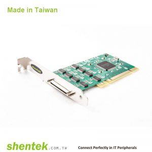 8 port High Speed Serial RS-232 Universal PCI card and Standard and Low Profile Bracket