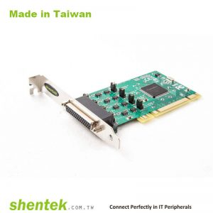 4 port High Speed Serial RS-422/485 Universal PCI card with 600W Surge and Standard and Low Profile Bracket