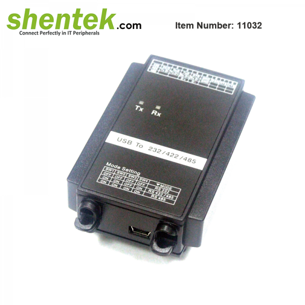 shentek-11032-FTDI-USB-to-1-port-RS232-RS422-RS485-Converter-3KV-Isolation
