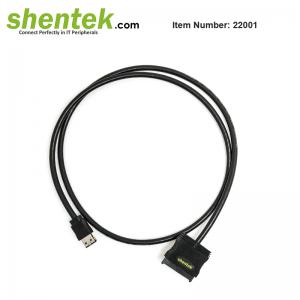 """eSATAp 5V 12V to SATA 22 pin Adapter suports 2.5"""" 3.5"""" HDD"""