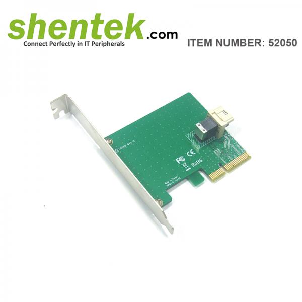 shentek-52050-1-port-U.2-NVMe-SFF8643-PCIe-Card