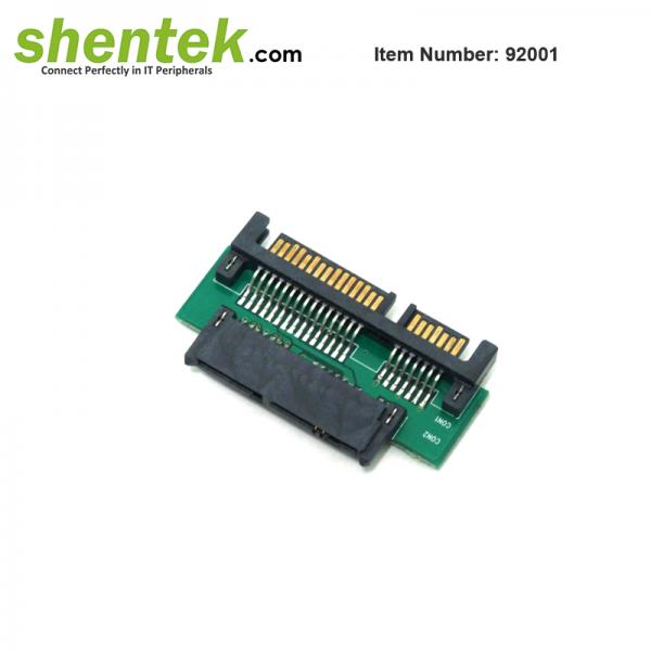 SATA 22 pin to Micr SATA 16 pin Adapter