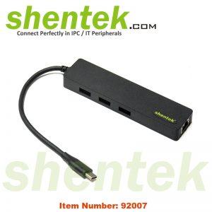 USB-C USB 3.1 Gen1 5G HUB 1 port 10/100/1000 Giga Ethernet