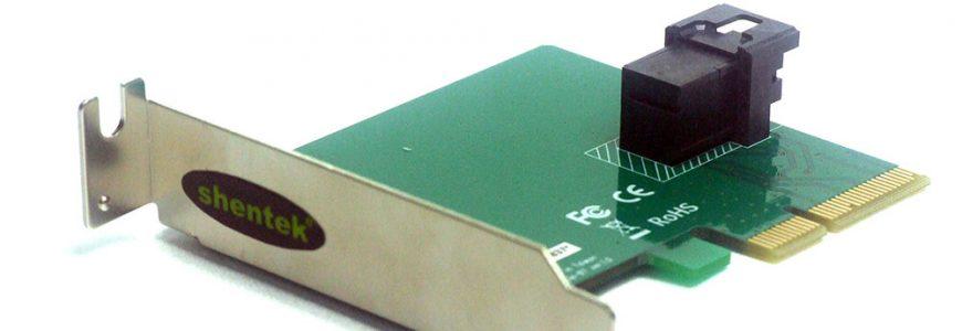 U.2 Low Profile PCI Express Card
